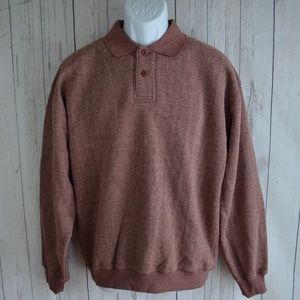 Vintage Orvis Sweatshirt w/ Leather Elbow Patches